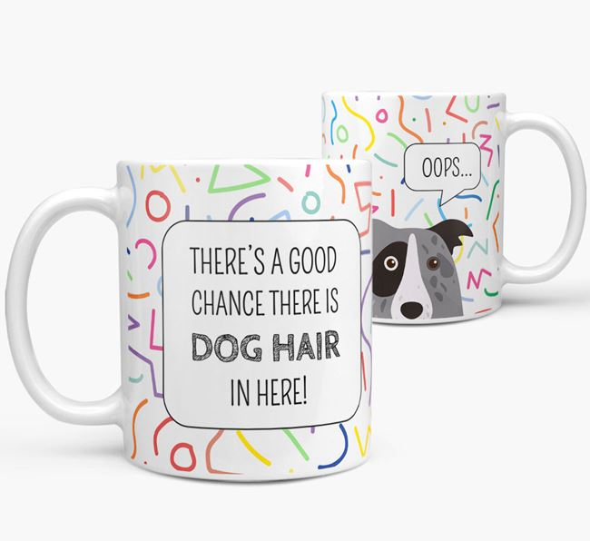Oops' Mug with Border Collie Icon