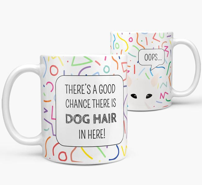'Oops' Mug with Canaan Dog Icon