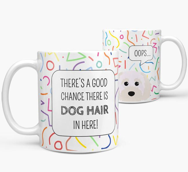 Oops' Mug with Cavapoochon Icon