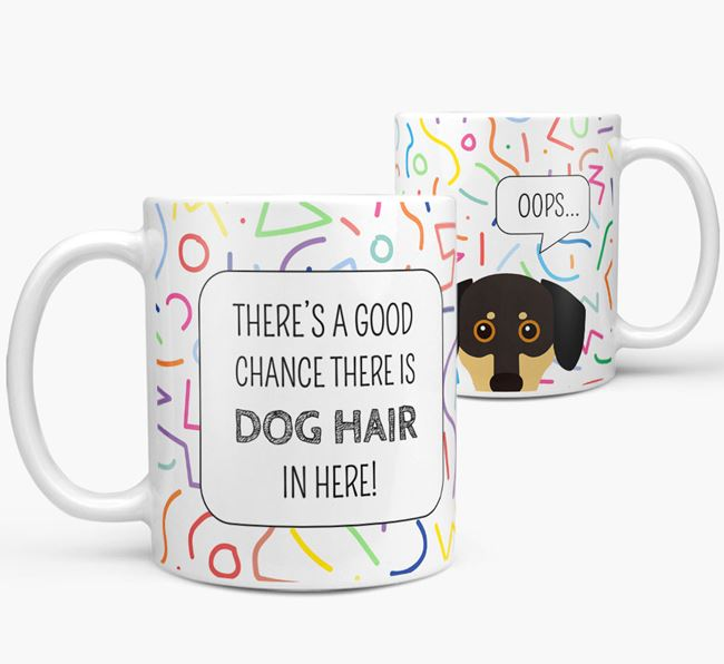 Oops' Mug with Chiweenie Icon