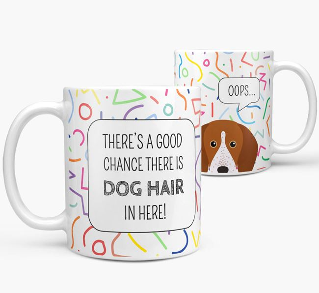 Oops' Mug with English Coonhound Icon