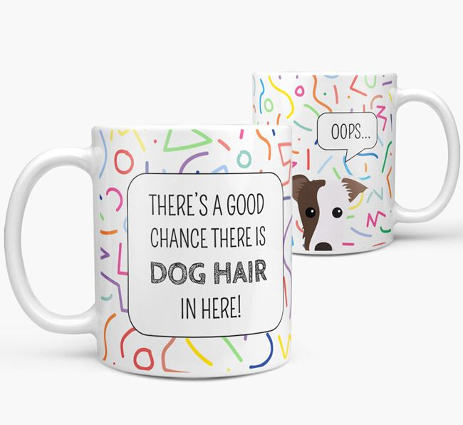 'Oops' Mug with Lurcher Icon