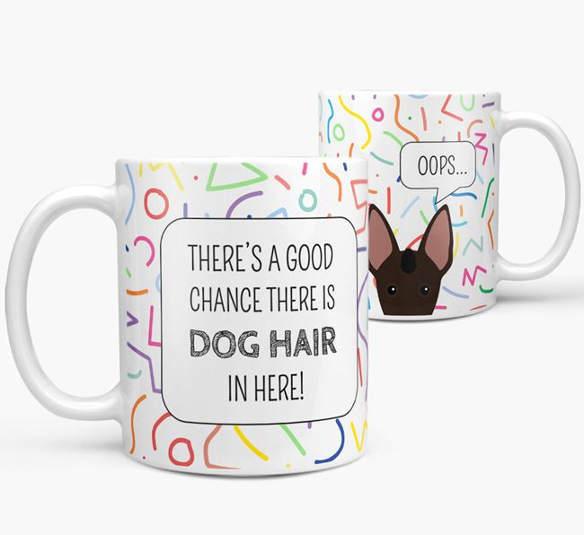 Oops' Mug with Mexican Hairless Icon