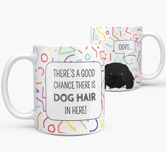 'Oops' Mug with Pekingese Icon