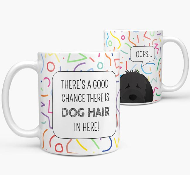 'Oops' Mug with Dog Icon