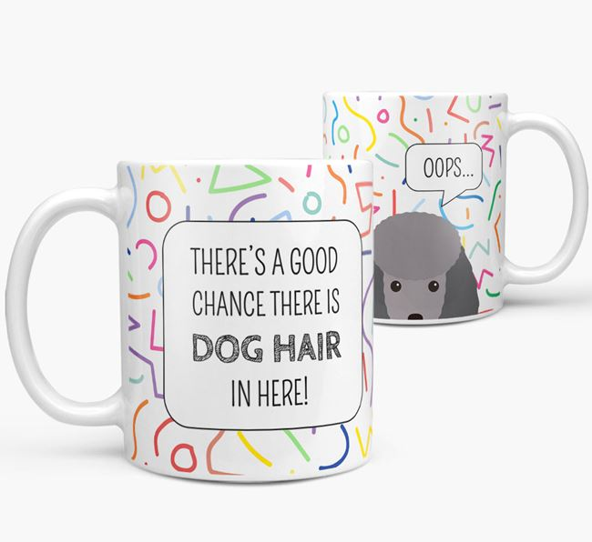 Oops' Mug with Toy Poodle Icon