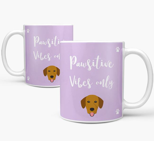 'Paw-sitive Vibes Only' Mug with Springador Icon