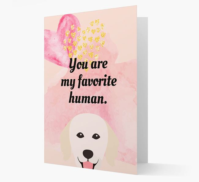'Favorite Human' Card