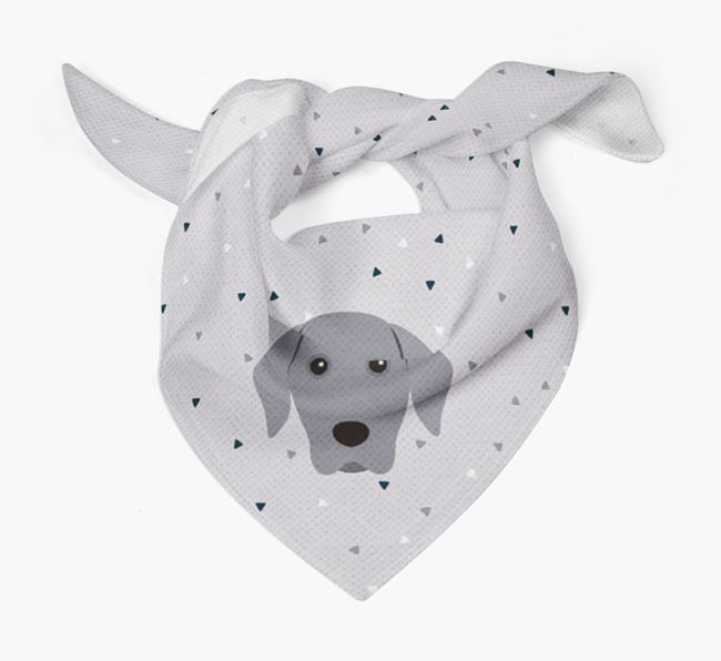Triangle Pattern Dog Bandana for your Dog