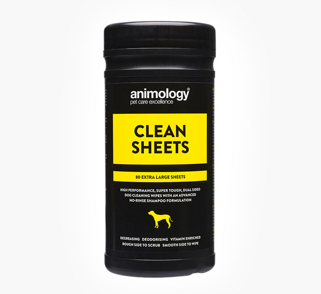 Animology 80 Pack Clean Sheet Wipes