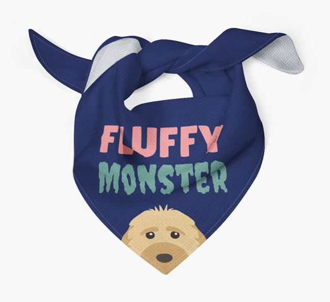 'Fluffy Monster' Dog Bandana for your Dog