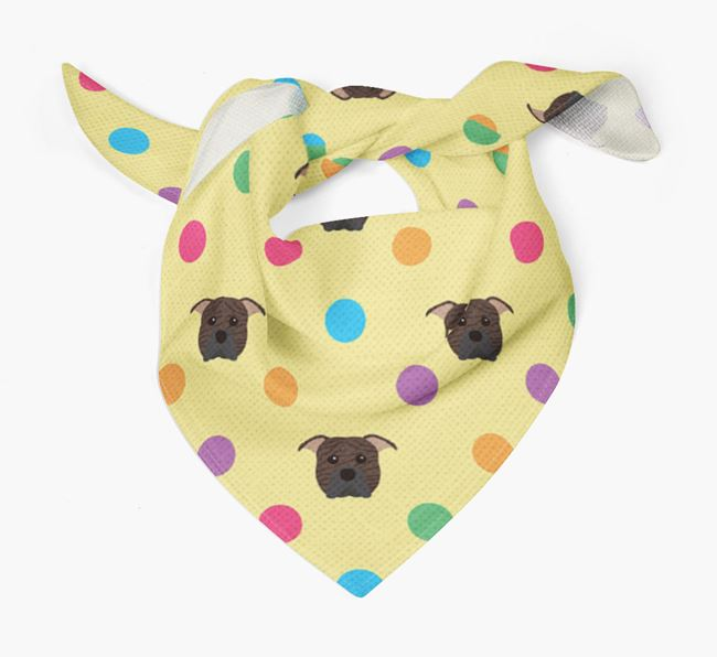 'Spots' Bandana for your American Pit Bull Terrier