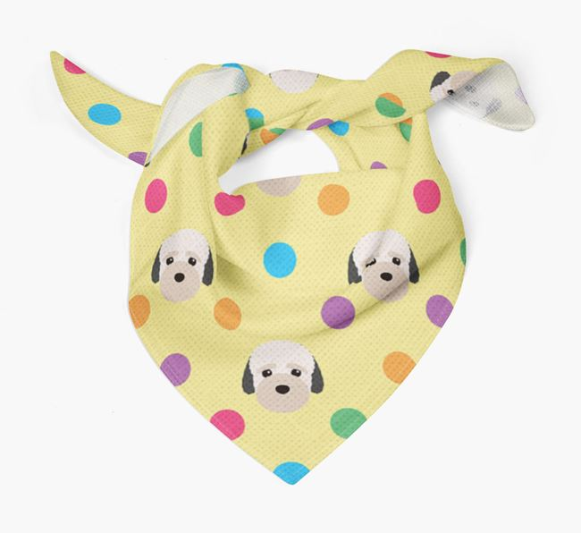 'Spots' Bandana for your Bich-poo