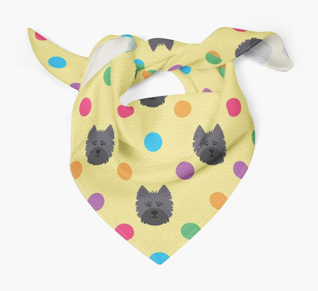 'Spots' Bandana for your Cairn Terrier