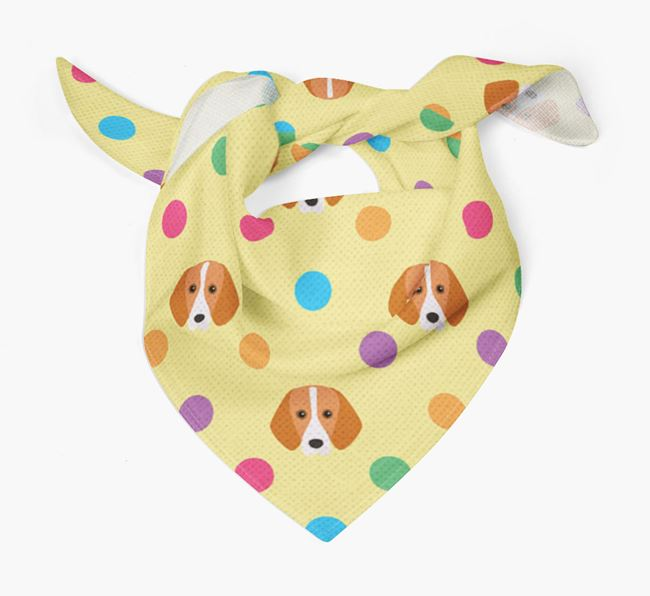 'Spots' Bandana for your Foxhound