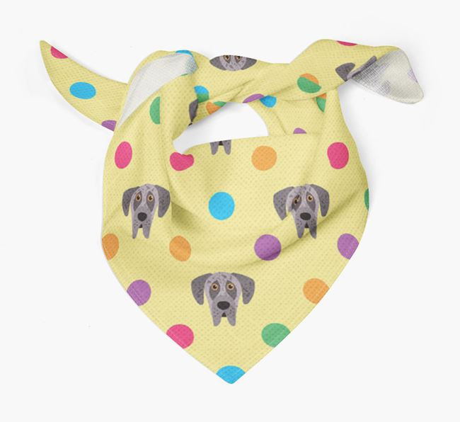 'Spots' Bandana for your Great Dane