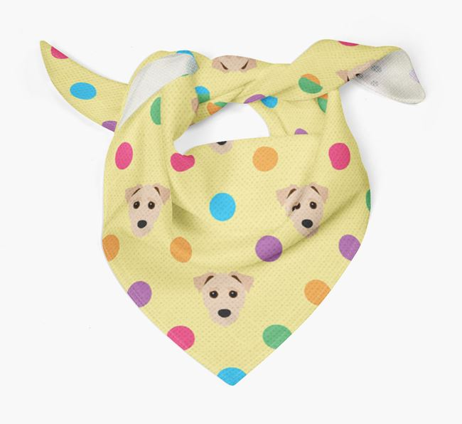 'Spots' Bandana for your Jack-A-Poo