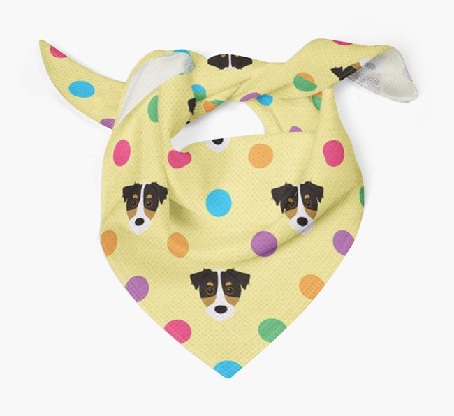 'Spots' Bandana for your Jack Russell Terrier