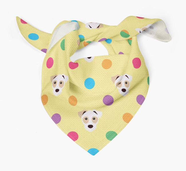 'Spots' Bandana for your Parson Russell Terrier