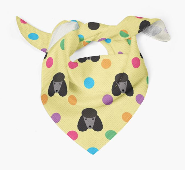 'Spots' Bandana for your Poodle