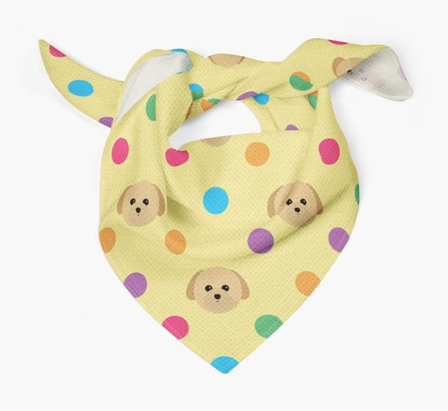 'Spots' Bandana for your Toy Poodle