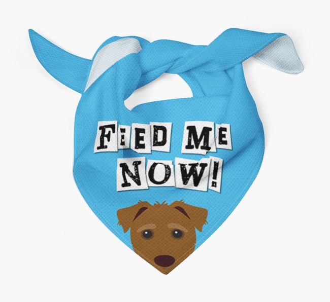 'Feed Me Now' Bandana for your Jack-A-Poo
