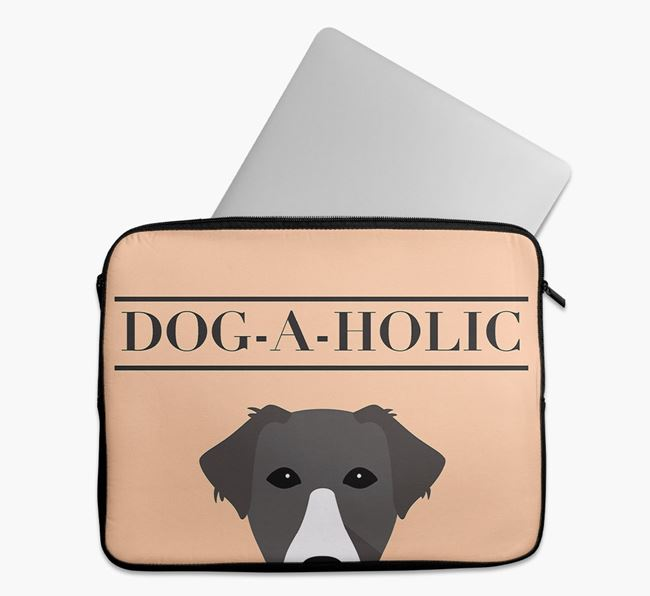 'Dog-A-Holic' Tech Pouch with Borador Yappicon