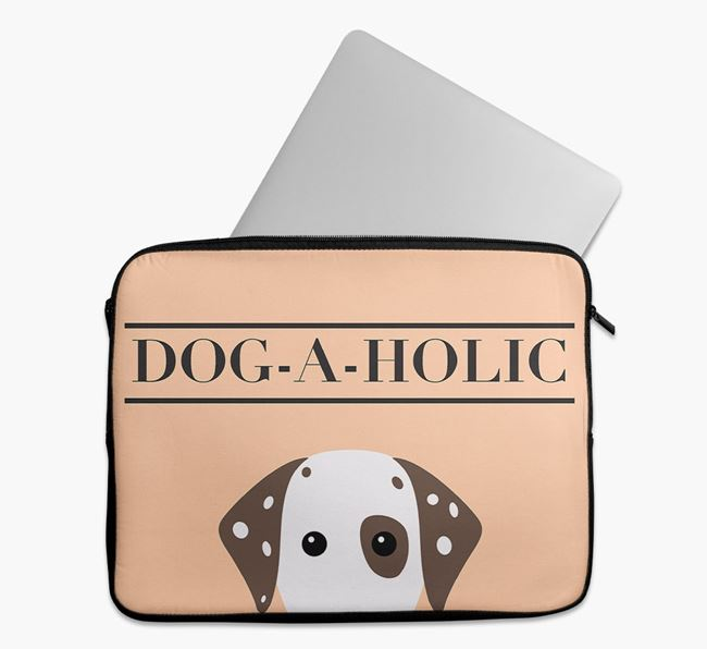 'Dog-A-Holic' Tech Pouch with Dalmatian Yappicon