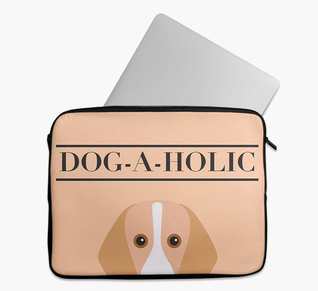 'Dog-A-Holic' Tech Pouch with Foxhound Yappicon