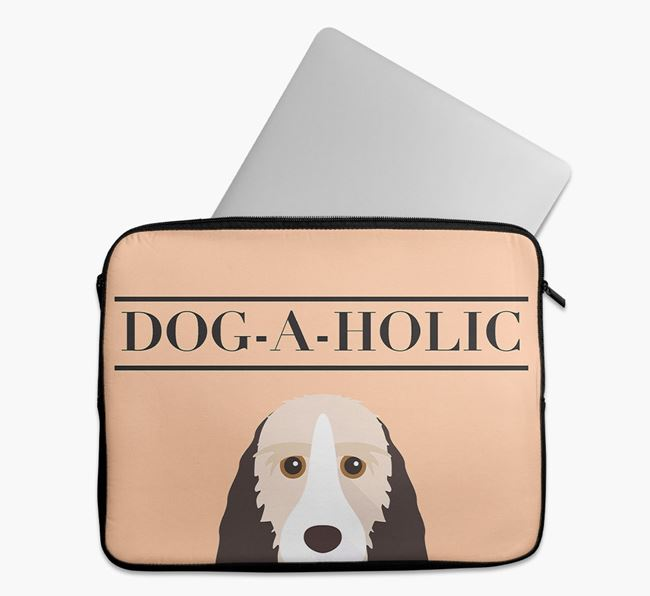 'Dog-A-Holic' Tech Pouch with Grand Basset Griffon Vendeen Yappicon