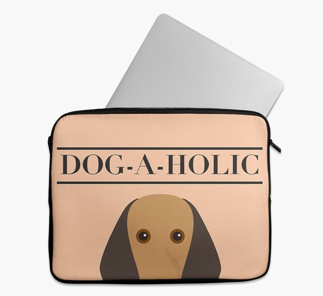 'Dog-A-Holic' Tech Pouch with Segugio Italiano Yappicon