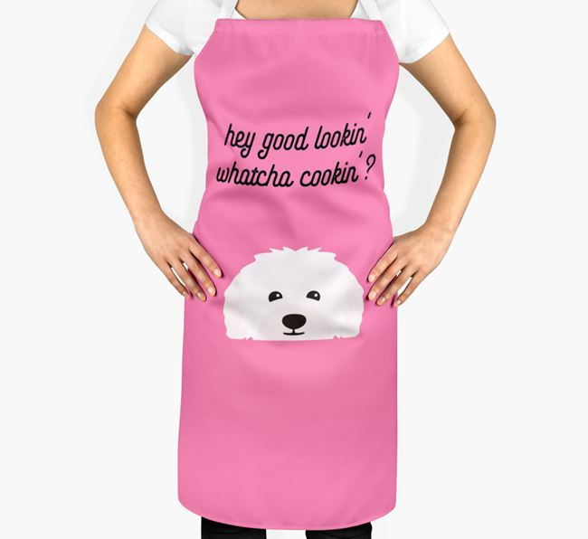 'Whatcha Cooking...?' Adult Apron with Bolognese Icon