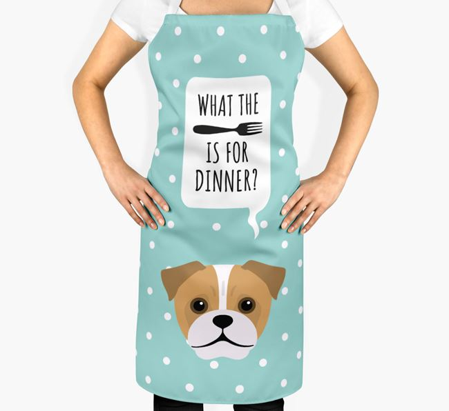 'What's for dinner?' Adult Apron with Jug Icon