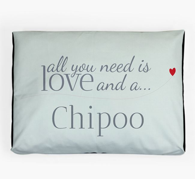 'All You Need is Love' Dog Bed for your Chipoo
