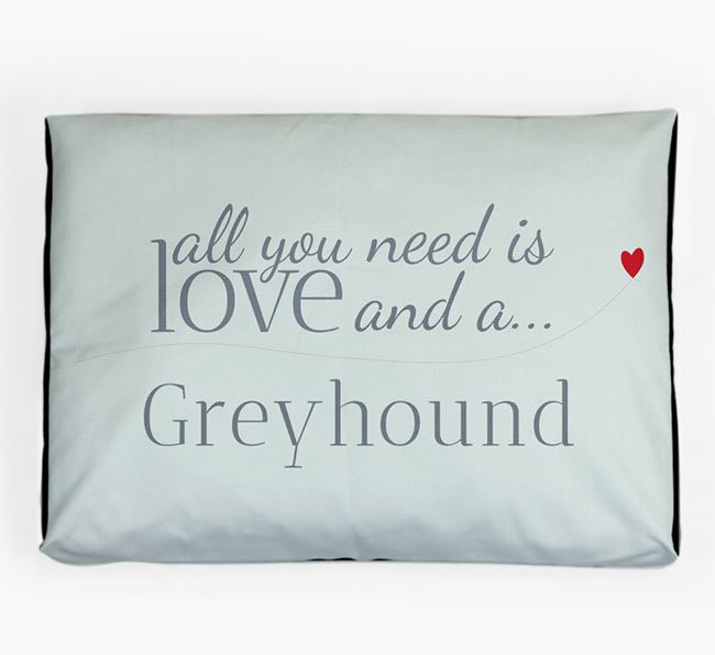 'All You Need is Love' Dog Bed for your Dog